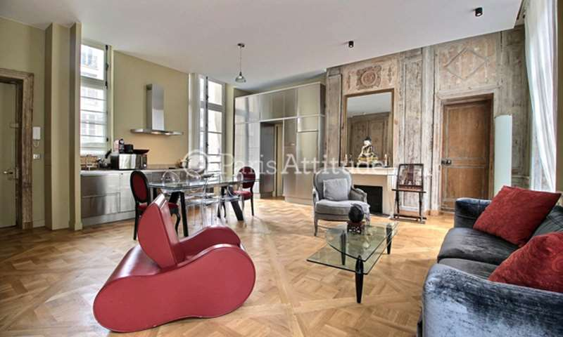 Rent Apartment 2 Bedroom 70m² rue Saint Louis en l Île, 75004 Paris