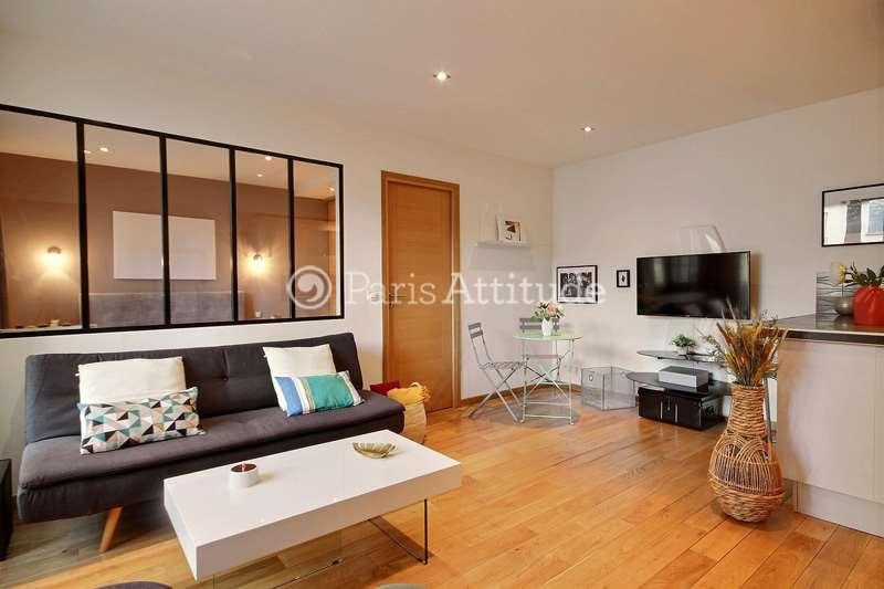 Rent furnished Apartment 2 Bedrooms 47m² rue Jean Jaures, 92800 Puteaux