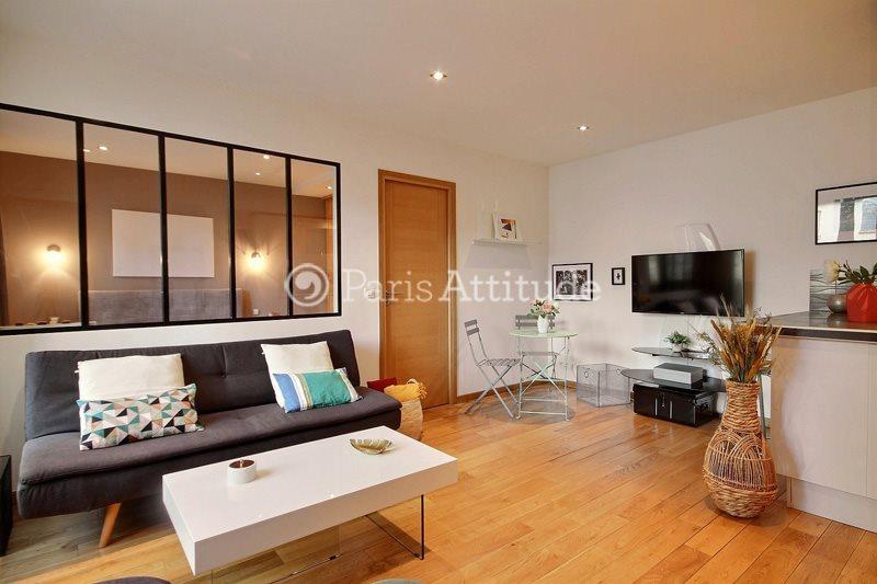 Louer Appartement meublé 2 Chambres 47m² rue Jean Jaures, 92800 Puteaux
