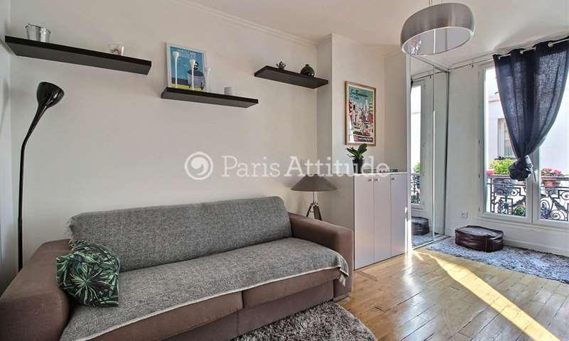 Rent Apartment Studio 20m² rue Rochebrune, 11 Paris