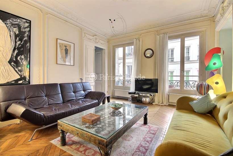 Louer Appartement meublé 2 Chambres 100m² rue Beranger, 75003 Paris
