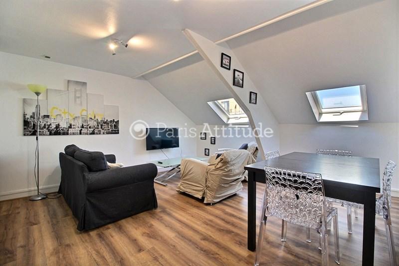 Rent Apartment 1 Bedroom 60m² avenue Marceau, 92400 Courbevoie