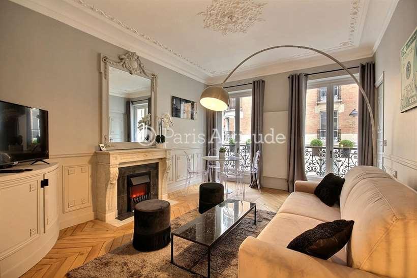 Rent furnished Apartment 2 Bedrooms 60m² rue de l Abbe Gregoire, 75006 Paris