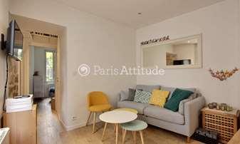 Rent Apartment 1 Bedroom 25m² rue Capron, 18 Paris