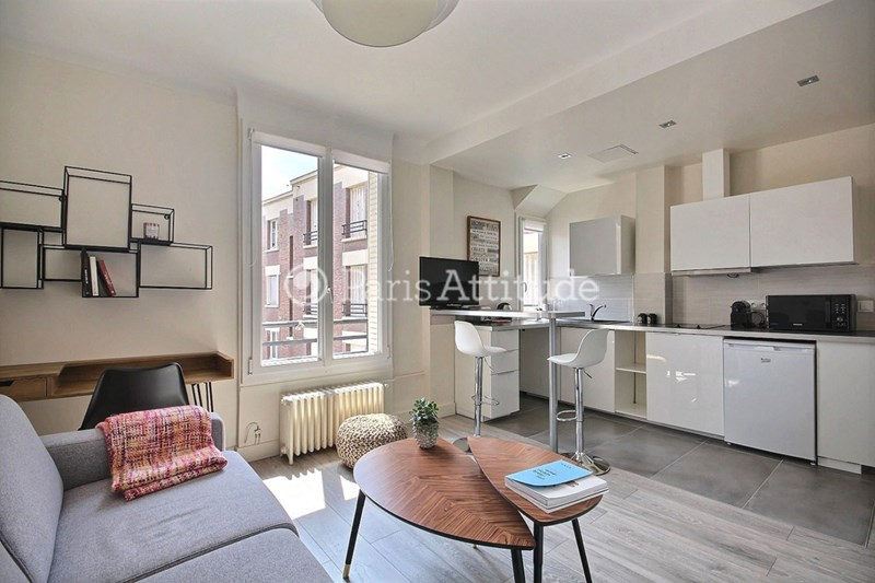 Rent Apartment Studio 22m² rue Barbes, 92300 Levallois Perret