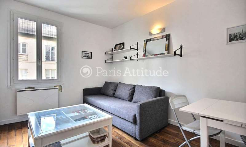 Rent Apartment 1 Bedroom 29m² rue Boursault, 17 Paris