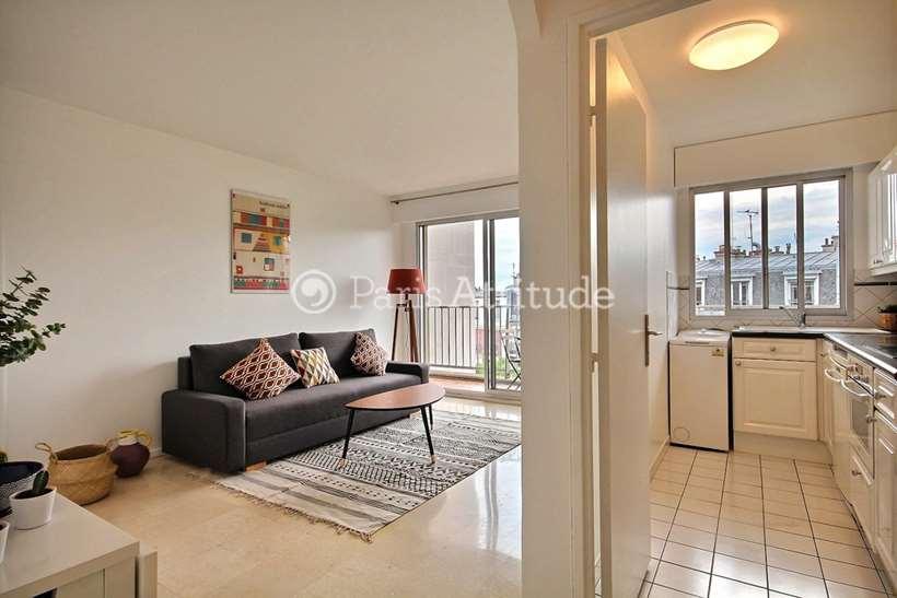 Louer Appartement meublé 1 Chambre 45m² rue Francoeur, 75018 Paris