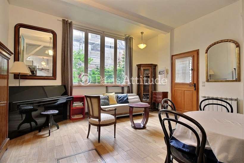 Rent furnished Loft 1 Bedroom 48m² rue Alphand, 75013 Paris