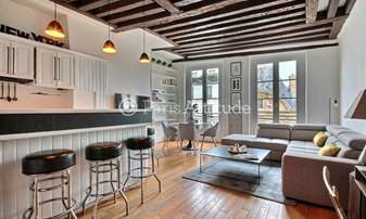 Rent Apartment 1 Bedroom 46m² rue Saint Antoine, 4 Paris