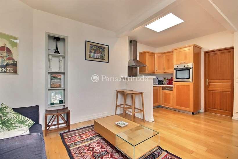 Aluguel Apartamento mobiliado 1 quarto 37m² rue des Martyrs, 75009 Paris