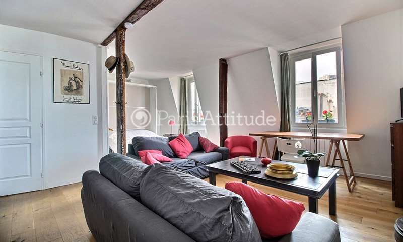 Rent Apartment Studio 33m² rue Greneta, 2 Paris