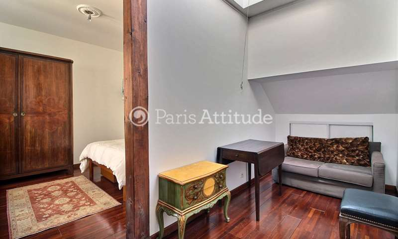 Location Appartement Alcove Studio 28m² rue Quincampoix, 75004 Paris
