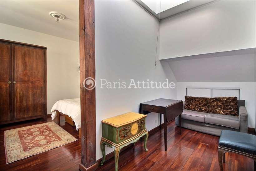 Louer Appartement meublé Alcove Studio 28m² rue Quincampoix, 75004 Paris
