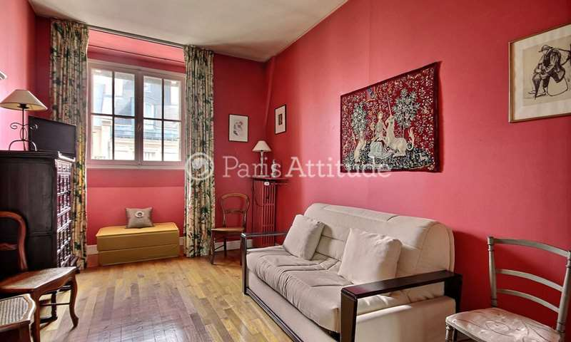 Rent Apartment Studio 20m² rue de Monceau, 75008 Paris