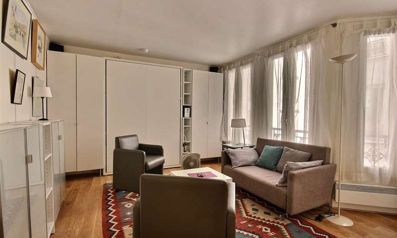 Location Appartement Studio 21m² rue Montmartre, 1 Paris