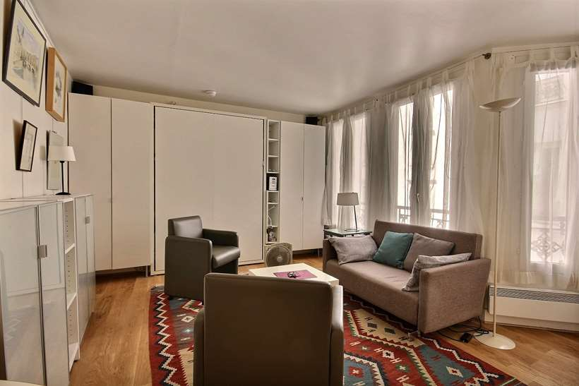 Rent furnished Apartment Studio 21m² rue Montmartre, 75001 Paris