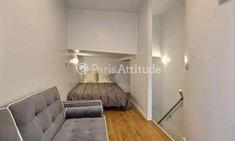 Rent Apartment Alcove Studio 21m² rue de Belleville, 20 Paris