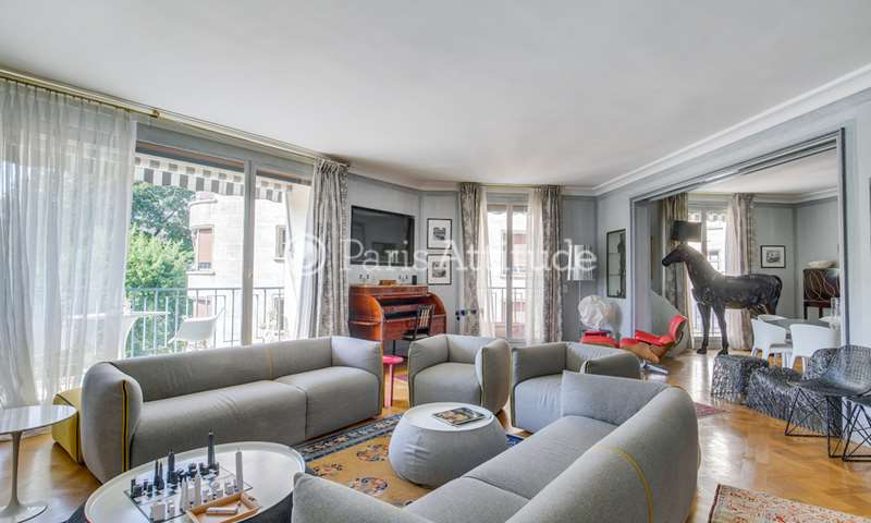 Rent Apartment 3 Bedrooms 177m² avenue Foch, 16 Paris
