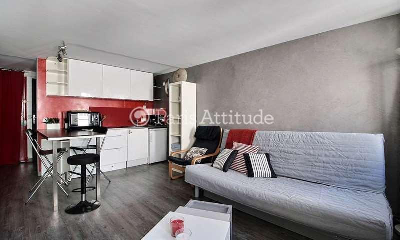 Location Appartement Studio 27m² rue du Pot de Fer, 5 Paris