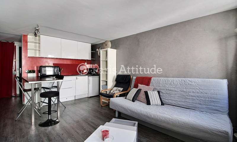 Location Appartement Studio 27m² rue du Pot de Fer, 75005 Paris