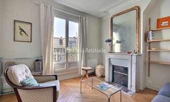 Rent Apartment 1 Bedroom 49m² rue Dautancourt, 17 Paris