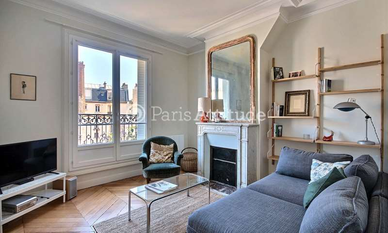Rent Apartment 1 Bedroom 49m² rue Dautancourt, 17 Paris