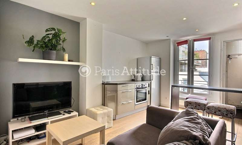 Rent Apartment 1 Bedroom 32m² rue du Commerce, 75015 Paris