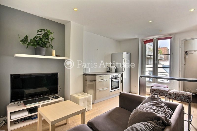 Rent furnished Apartment 1 Bedroom 32m² rue du Commerce, 75015 Paris