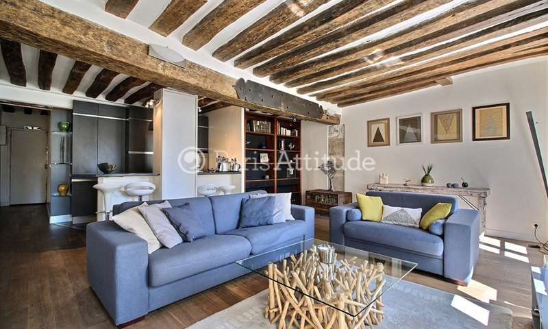 Rent Apartment 1 Bedroom 60m² rue des Lombards, 4 Paris