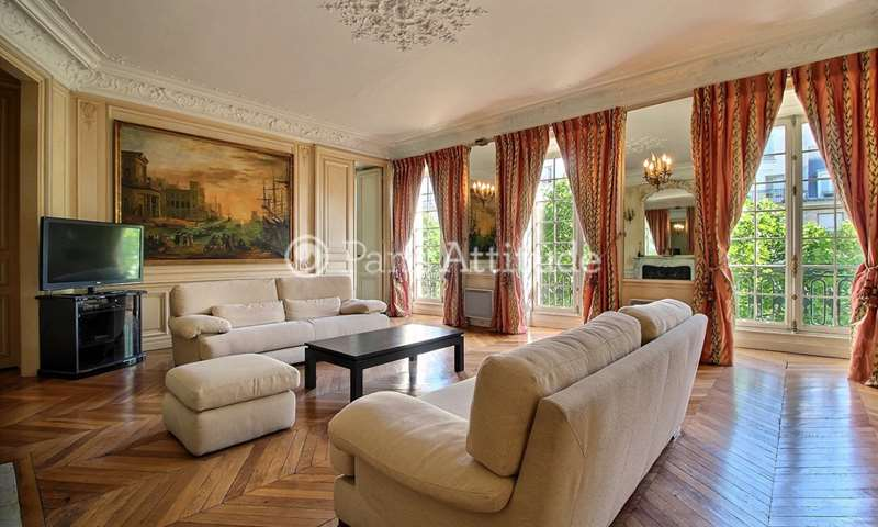 Rent Apartment 2 Bedrooms 190m² boulevard Saint Germain, 7 Paris