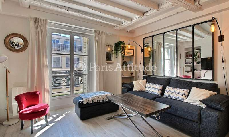 Rent Apartment 1 Bedroom 38m² rue du Terrage, 75010 Paris