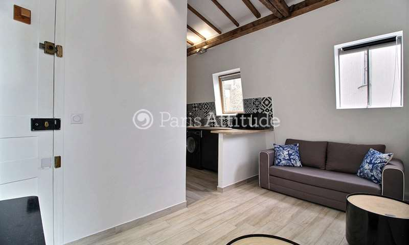 Location Appartement Studio 20m² rue Denis Poisson, 17 Paris