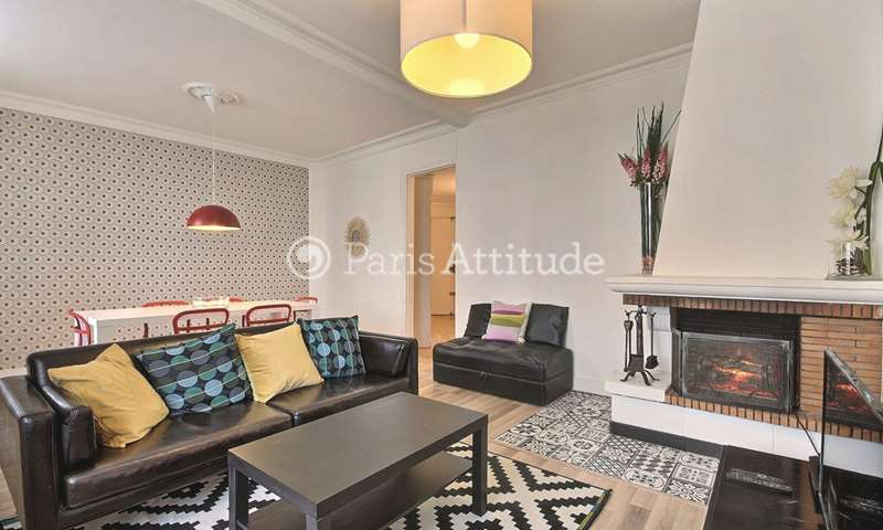 Rent Apartment 2 Bedroom 73m² rue Vauvenargues, 75018 Paris