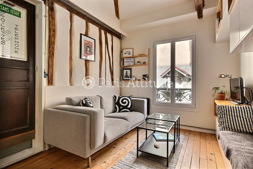 Aluguel Apartamento mobiliado Studio 26m² avenue de Clichy, 75017 Paris