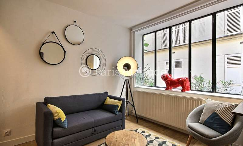 Rent Duplex 1 Bedroom 32m² rue de la Clef, 5 Paris