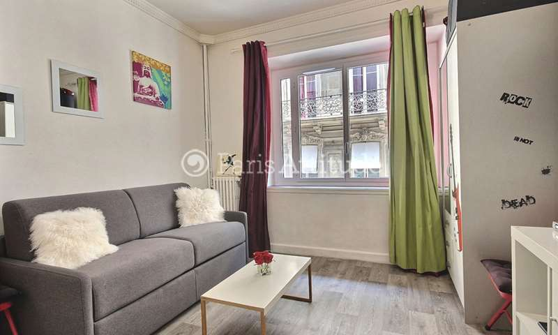 Rent Apartment Studio 18m² boulevard de la Madeleine, 9 Paris