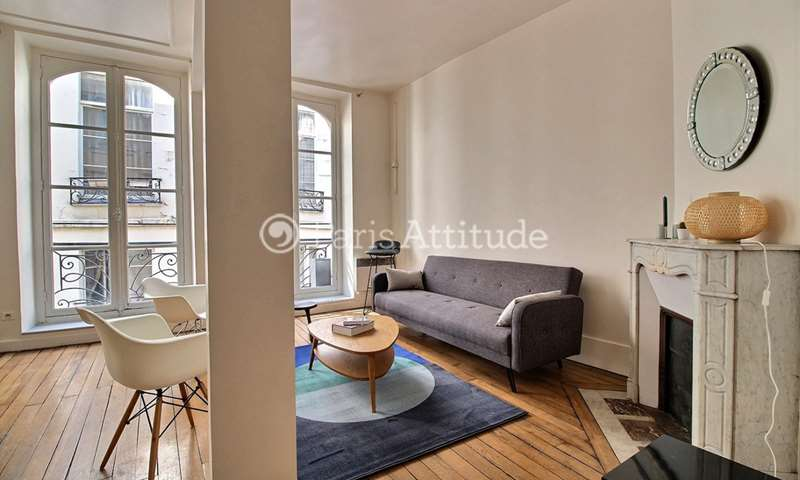 Rent Apartment 1 Bedroom 49m² rue des Gravilliers, 75003 Paris