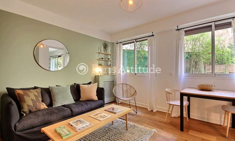 Rent Apartment 1 Bedroom 35m² rue Octave Feuillet, 16 Paris