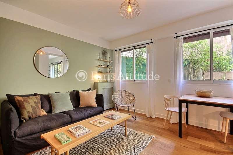 Rent furnished Apartment 1 Bedroom 35m² rue Octave Feuillet, 75016 Paris