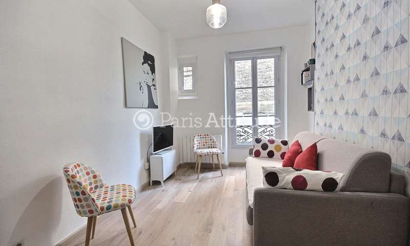 Rent Apartment 1 Bedroom 34m² boulevard de Menilmontant, 11 Paris