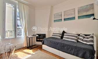 Rent Apartment Studio 17m² Villa Saint Michel, 18 Paris