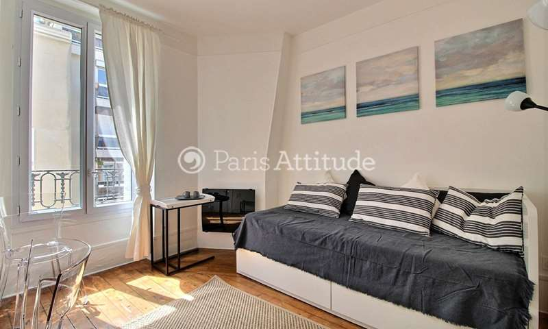Rent Apartment Studio 17m² Villa Saint Michel, 75018 Paris