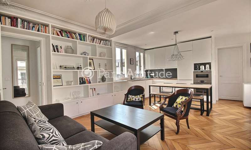 Rent Apartment 2 Bedroom 57m² rue de Bellefond, 75009 Paris