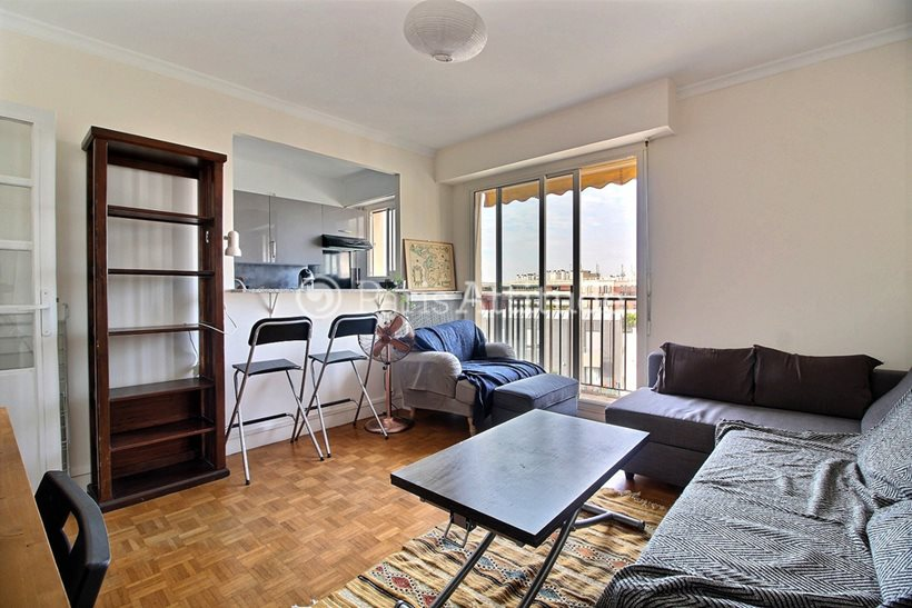 Louer Appartement meublé 2 Chambres 53m² rue de la Duee, 75020 Paris