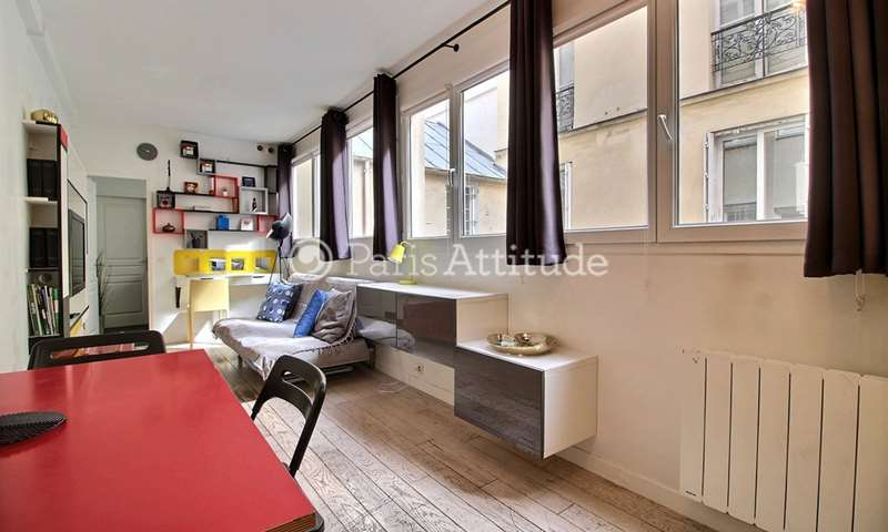 Rent Apartment 1 Bedroom 40m² rue Saint Denis, 75002 Paris