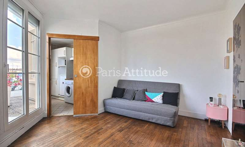 Location Appartement Studio 22m² rue Jouvenet, 16 Paris