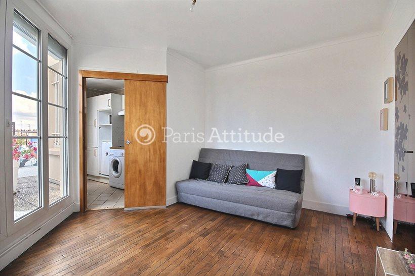 Rent furnished Apartment Studio 22m² rue Jouvenet, 75016 Paris