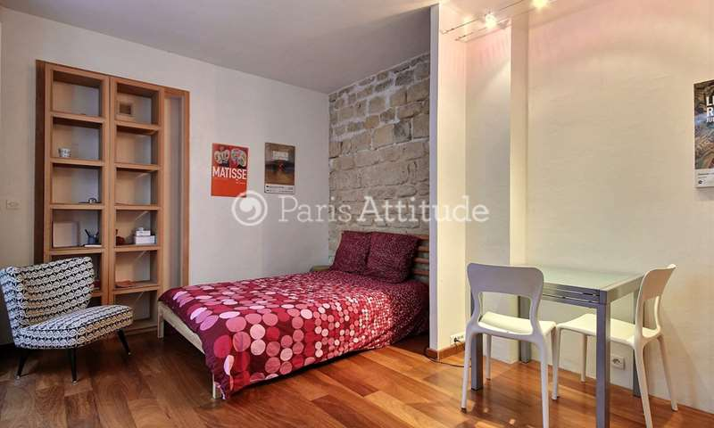 Rent Apartment Studio 21m² rue Duvivier, 7 Paris