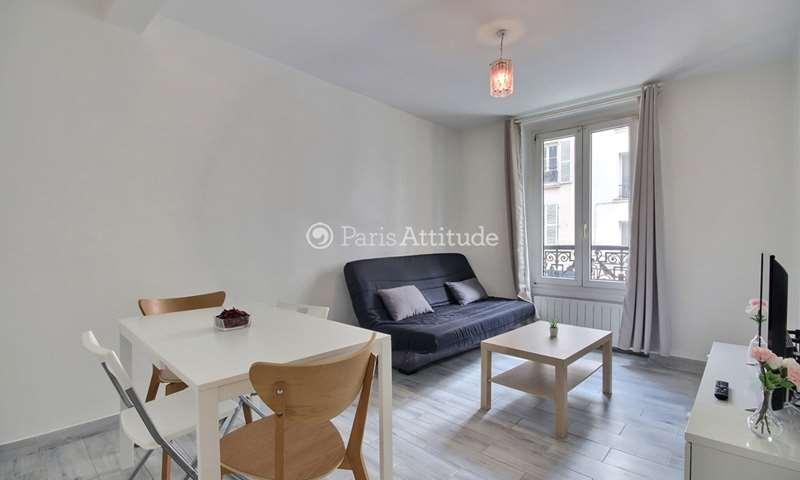 Location Appartement 1 Chambre 34m² rue Boissieu, 18 Paris