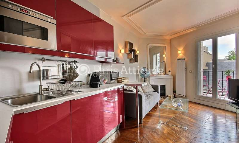 Location Appartement Alcove Studio 27m² rue du Cardinal Lemoine, 75005 Paris